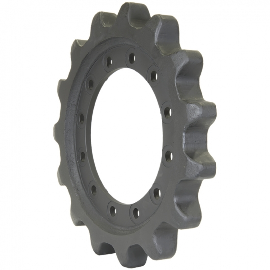 CAT259B3 sprocket and segment