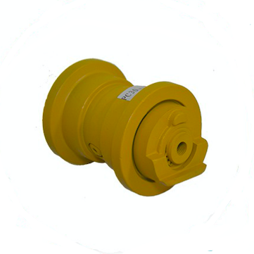 PC30 Double Flange Excavator Spare Parts Track Roller For High Quality