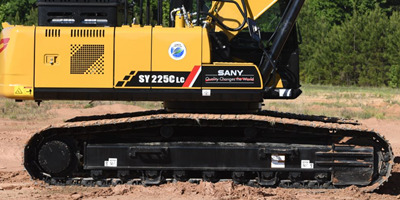 sany undercarriage parts
